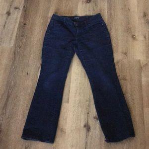 Loft curvy sexy boot jeans size 30/10 P (Petite)